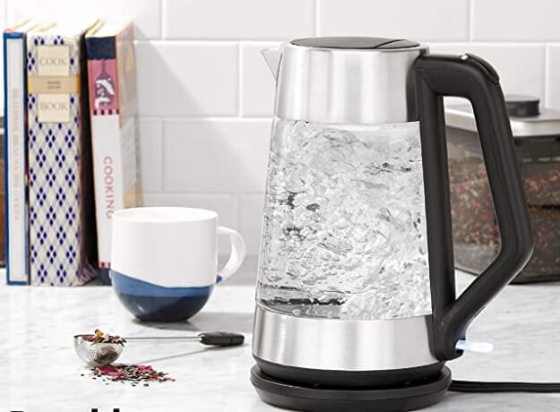 OXO Cordless Glass Electric Kettle no Plastic