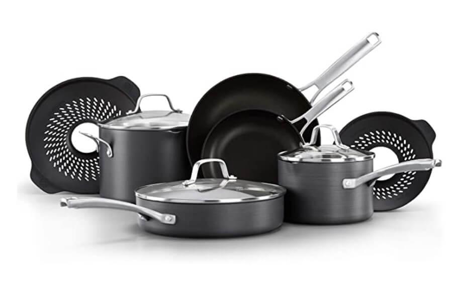 Classic pots and pans set