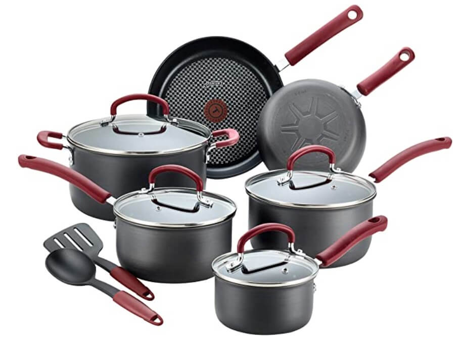Ultimate Hard-Anodized Dishwasher Safe Pots and Pans Set of Nonstick Cookware Set.