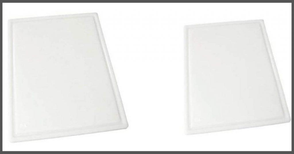 GroovedFlat cutting board