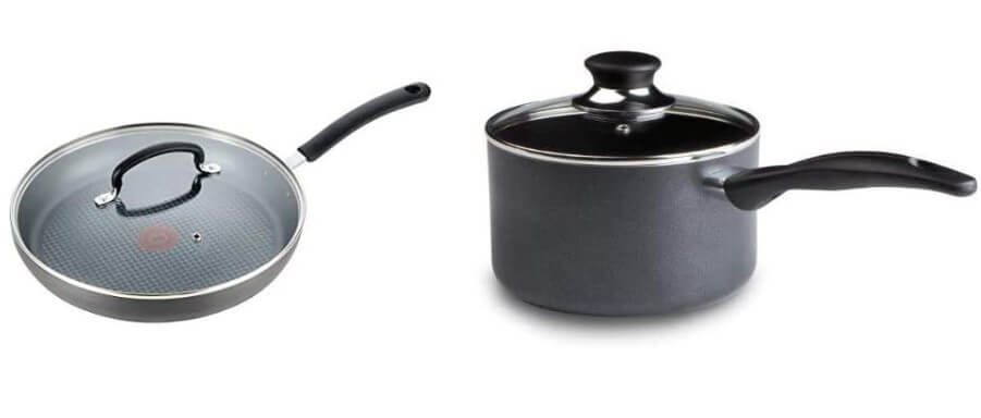 T-fal Nonstick Dishwasher Safe Cookware Lid Fry Pan