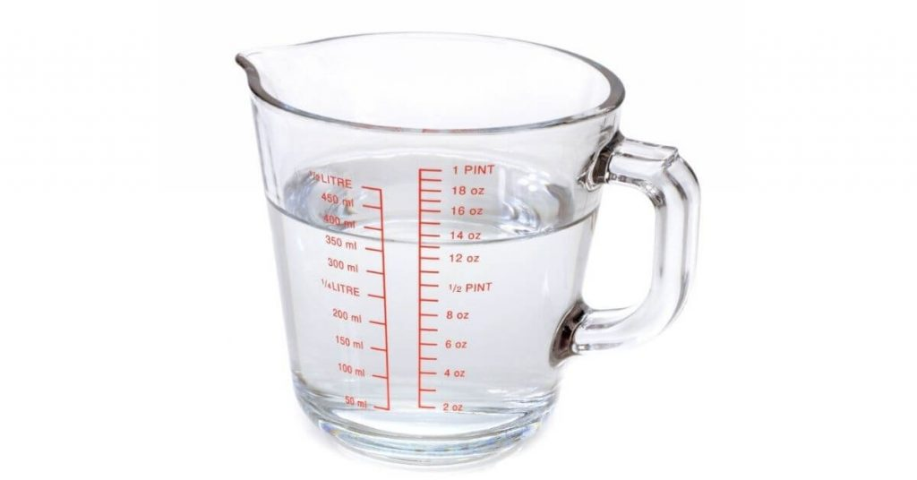 One Glass Water Equals How Many ml