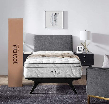 Modway Jenna Innerspring Twin Air Matrices