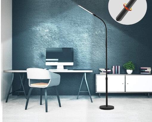NXONE Led Floor Lamp the best bedroom reading table lamp