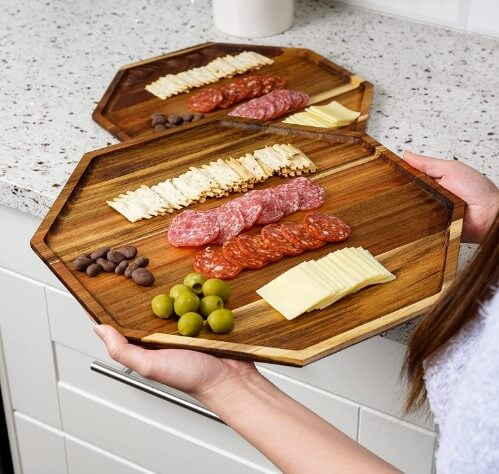 Acacia Wood Serving Tray - East World brand