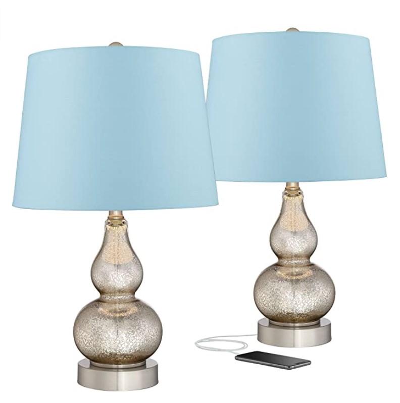 Aston Coastal Contemporary Table Lamps