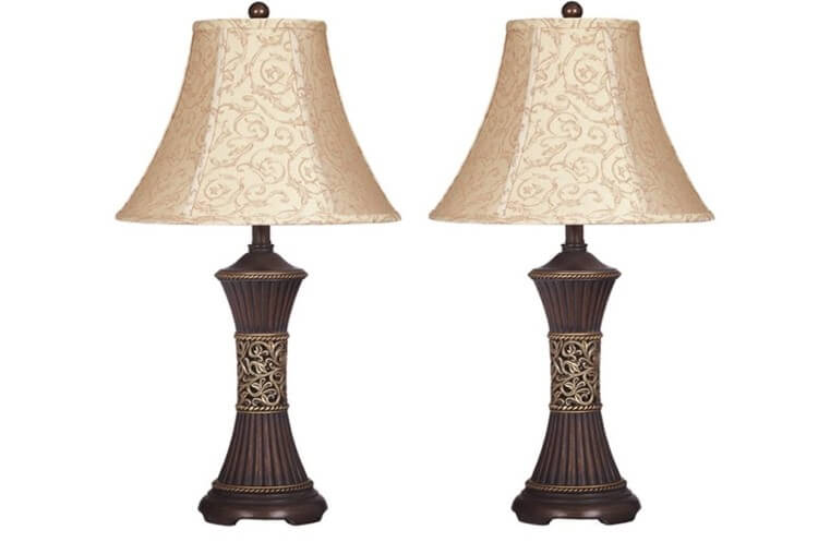 Signature Design by Ashley- Antique Table Lamp   best desk lamp for eyes