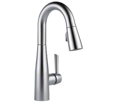 DELTA Essa Single-Handle Bar-Prep Kitchen Sink Faucet
