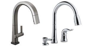 Delta kitchen faucets single handle