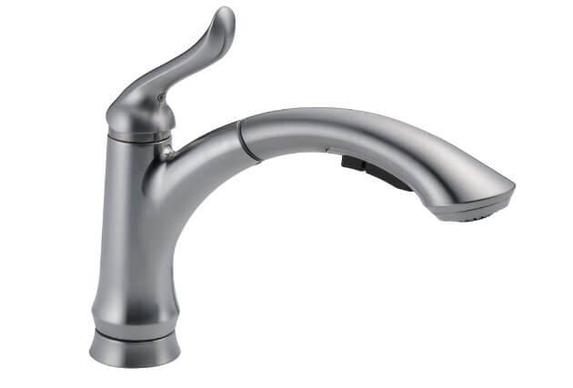 DELTA Linden Single-Handle Kitchen Sink Faucet