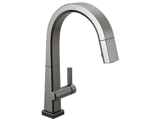 DELTA Pivotal Single-Handle Touch Kitchen Sink Faucet