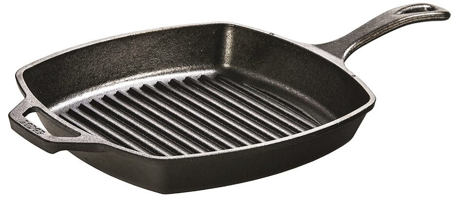 Lodge Cast Iron Grill Pan