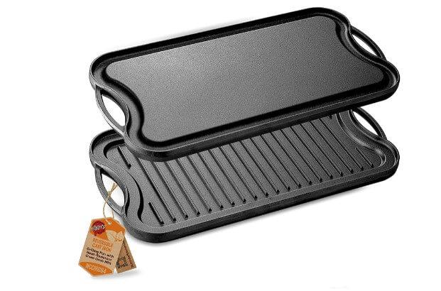 NutriChef Reversible Plate-PFOA & PFOS Free Oven