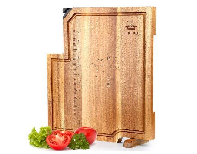 Imarku Butcher Block Cutting board is best Acacia Chopping Boards