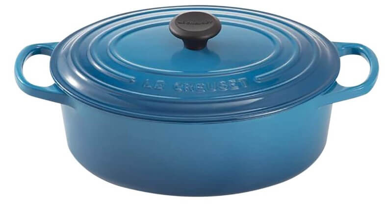 Le Breuset 8 qt Dutch oven – Cast Iron Oval French Oven