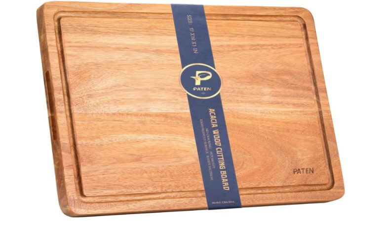 Paten Cutting Board, Wood Cutting Boards for Kitchen