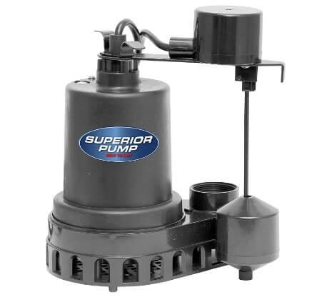 Superior Pump 92572 1-2 HP