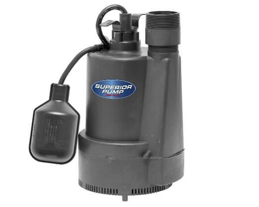 Superior Sump Pump 13 HP – 92330